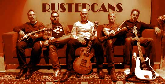 Les Rusted Cans sur scene